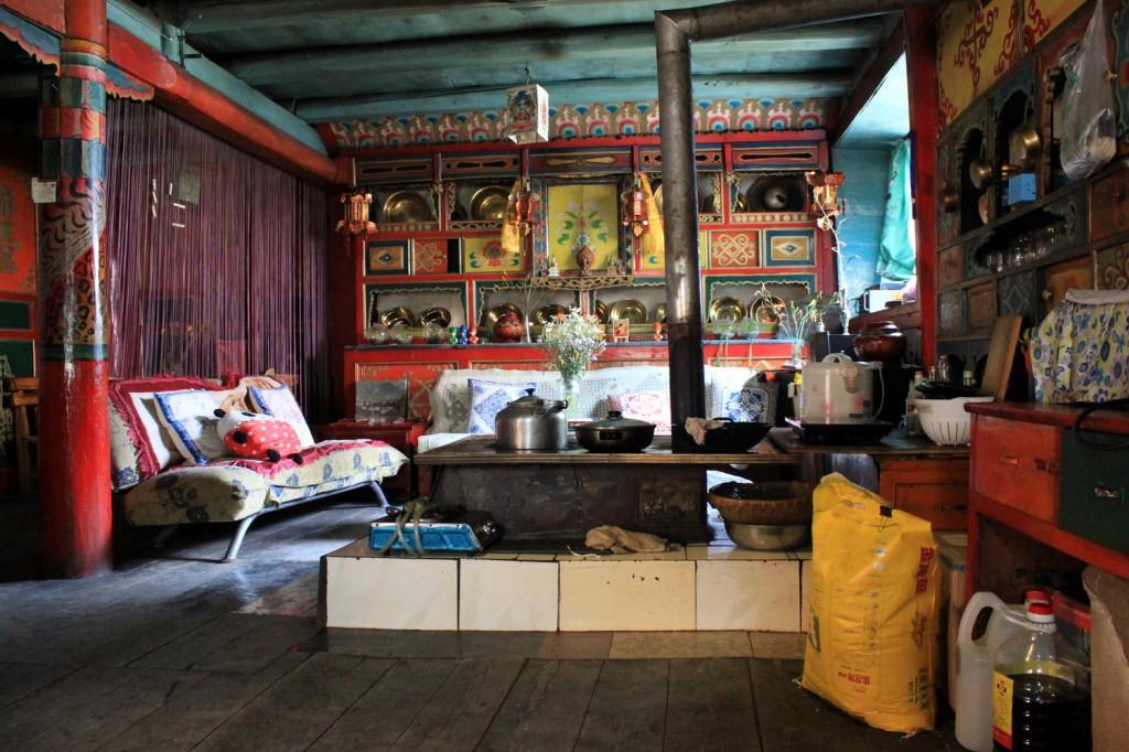 Tibetisches Hostel in Jiuzhaigou