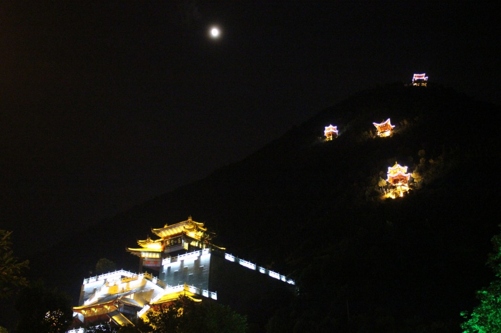 Nachts in Wushan