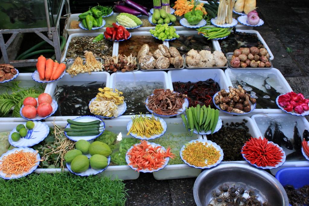 Restaurantpräsentation in Dali