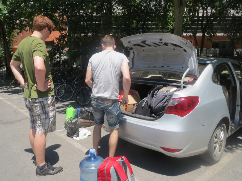Letze Vorbereitungen und packen