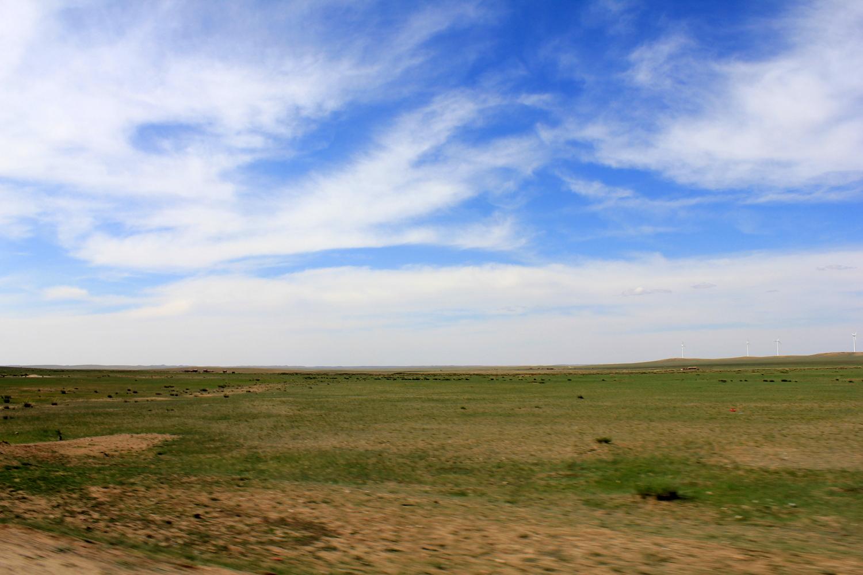 Die berühmten Graslandschaften der Inneren Mongolei